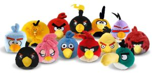 [Full Collection]Angry Birds Plush by nikitabirds
