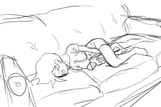 Couch Snuggles by snuggleproxy