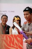 Lighting of the Olympic Torch by kyl191