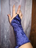 Hand and Curtain 3 by SerendipityStock