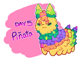 [Closed] HBDAY 5 Auction: Pinata! by toripng