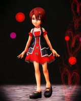 KH1 Kairi (dress) DL by KohakuUme6