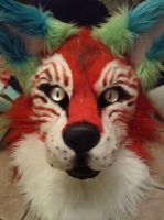 Macaw Dog Head (SOLD) by SuicidalMuffins