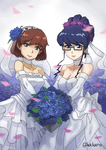 The Wedding of Mariko and Ann Misono by sunderhart