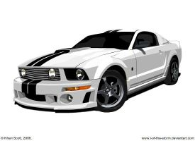 '05 Mustang by i-Of-The-Storm