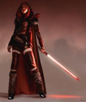 Lady Sithv02 by AndrewDoris