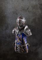 Dark Souls Elite Knight mini bust by futantshadow