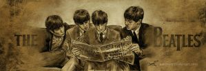 The Beatles by aaronwty
