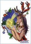Terrie Christmas by ebonydragon