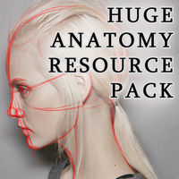 HUGE Anatomy Resource Pack by LadyLombax