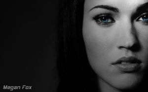 Megan Fox Portrait by Gamer1ba