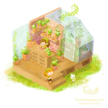 Flower Shop Concept by Foyaland