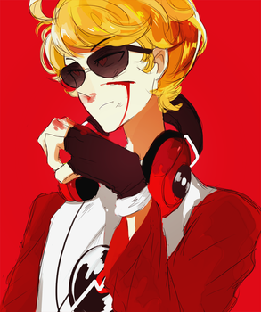 dave strider by Kite-Mitiko