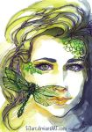 Green Dreamer by Si3art