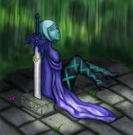 Waiting -- Collab by Astralstonekeeper