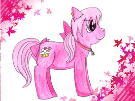 Confectionist Rose pony by Llama-lady