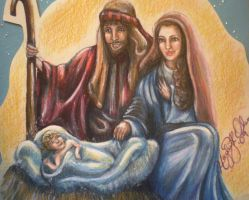 The Nativity by MissCosettePontmercy
