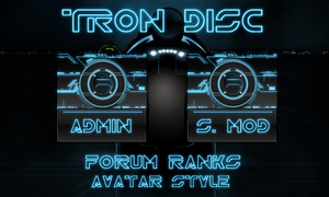Tron Disc Forum Ranks by bry5012