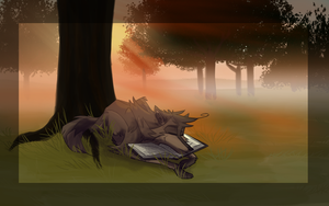 Morning Story Pages by Rolfwolf