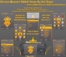 Cartoon Monster S60v3 Theme by Evil-Slayer