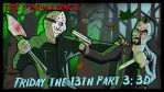 175 Friday the 13th Part 3 2D title-card by ShaunTM