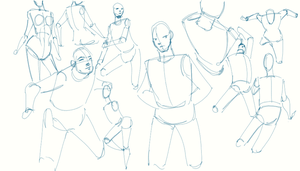 Gesturing with Shapes Exercise by ArtiestDesign