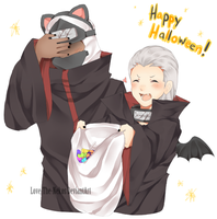 Happy Halloween!!!! by Love-The-Nekos