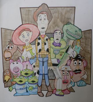 Toy Story Gang by Swisskapolka