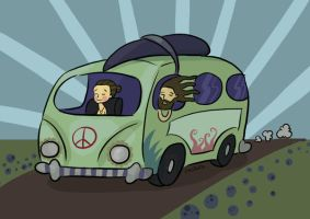 on the road by cbaseggio