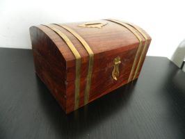 Wooden Chest by Stock-Karr