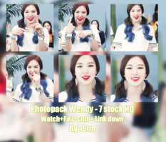 Photopack#8 : Wendy Red Velvet : By Sun by Suncucheoo