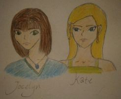 Jocelyn and Kate by Perianth5