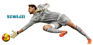 Gianluigi Donnarumma by szwejzi