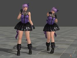 DOA5 Ayane Costume 22 Pop Idol by rolance