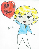 Tamaki's Valentine by Kaychu-The-Gamer