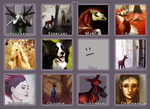 2013 Art Summary by geometric-harmartia