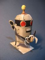 papercraft PA friut robot kit by TylerTinsley