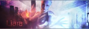 Mass Effect : Liara T'Soni Signature by iamsointense