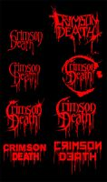 Crimson Death Logo Scribbles by Cruzio