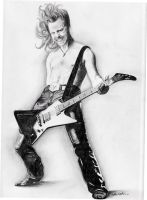 James Hetfield by hiatis
