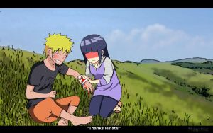 'Thanks Hinata!' by pepperlicious