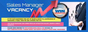 Sales Manager vacancy by gt4ever