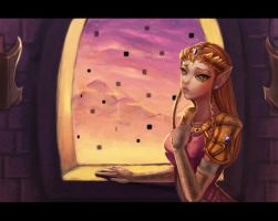 Princess Zelda by dyadav
