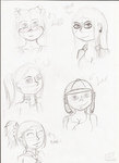 Face practice by TheUnluckyBeaver