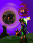 Majora's Mask Fan Cover by AtomicPhoton
