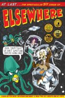 Elsewhere Issue 5 Cover by Joe5art