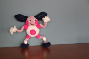 #122 mr Mime by pokecrochetchallenge