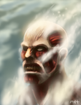 Colossal Titan by mazingerpip