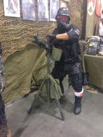Phoenix Comicon 2014 Resident Evil HUNK (2) by Demon-Lord-Cosplay