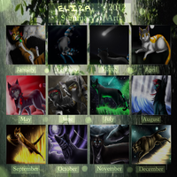 ~2012 Summary of Art~ by eliza1star